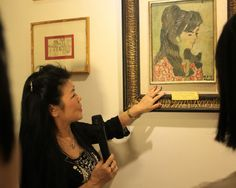 Artist exhibits her collection of classics          An introduction: Artist Van Duong Thanh shows Bui Xuan Phai's painting Van Duong Thanh in Red. — VNS Photos Le Huong    Painter Van Duong Thanh owns 11 paintings by famous artists. She's kept the priceless works in perfect condition since she bought them decades ago. She f... #vietnamtravelnews #vntravelnews #vietnamnews  #traveltovietnam #vietnamtravel #vietnamtour