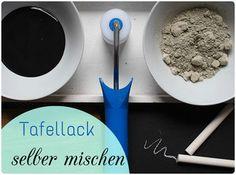 Tafellack, Tafelfarbe selber machen, DIY, Tutorial