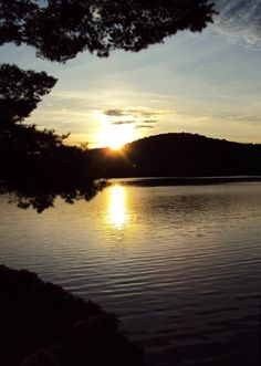 Sunset, Brant Lake
