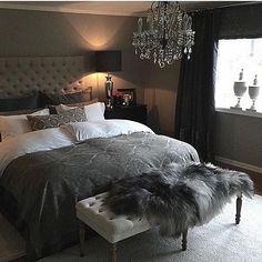Top 60 Mejores Ideas Dormitorio principal - Home Luxury Trendy Bedroom, Cozy Bedroom, Home Decor Bedroom, Modern Bedroom, Master Bedroom, Bedroom Ideas, Glam Bedroom, White Bedroom, Home Luxury
