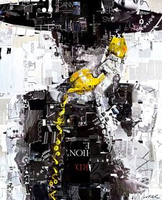 Collage by artist Derek Gores |The Art of Fashion - Google+