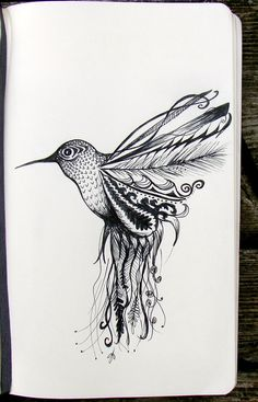 This would be a beautiful tattoo (maybe with a different bird for me, personally)