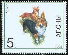 Corgi stamp