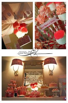 Princess Party Decor Idea :: PRETTY PINK