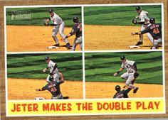 2011 Topps Heritage Baseball Card # 311 Derek Jeter IA - New York Yankees (In Action) MLB Trading Card in Screwdown Case by Topps. $7.99. 2011 Topps Heritage Baseball Card #  311  Derek Jeter IA  - New York Yankees (In Action) MLB Trading Card in Screwdown Case with the Classic 1962 Design