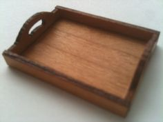 Serving Tray Kit 1 Scale by GrANDGIRLminiatures on Etsy, $8.00