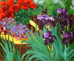 Emil Nolde ~ Flower Garden, 1922