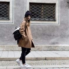 Streetstyle Camelcoat by Hirschkind