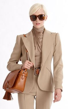 Business Casual by Ralph Lauren 13 Office Fashion, Business Fashion, Business Casual, Business Women, Style Work, Work Chic, My Style, Suit Fashion, Look Fashion