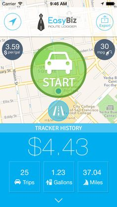 vehicle tracking ios app