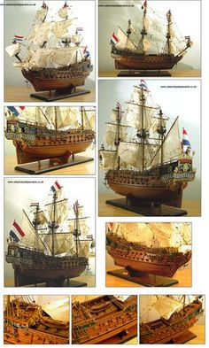 Admiralty Ship Models Ltd Friesland 1663