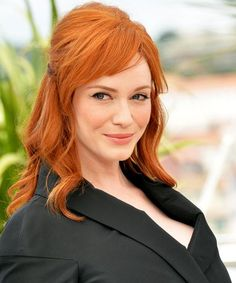 Christina Hendricks' New Blonde Hair Is Her Farewell To Mad Men #refinery29  http://www.refinery29.com/2015/03/84223/christina-hendricks-blonde-hair-color