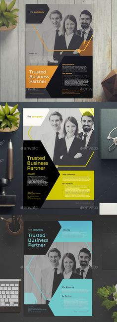 #Company #Flyer 02 - Corporate Flyers Download here: https://graphicriver.net/item/company-flyer-02/18299351?ref=alena994