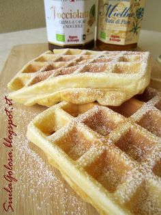 Crepes, Bakery Recipes, Waffle Recipes, Homemade Desserts, Mini Desserts, Pie Dessert, Dessert Recipes, Almond Paste Cookies, Sweet Light