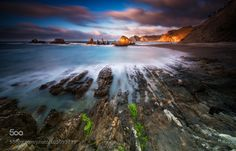 last lights in Gueirua by alfonso1979 | Photographers Photography !