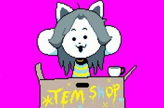 120 Best hOI!!! ~ Temmie images in 2016 | Videogames, Video Games