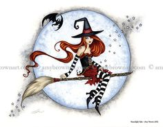 FALL & HALLOWEEN - 8x10 Fall-Halloween Prints - Amy Brown Fairy Art - The Official Gallery