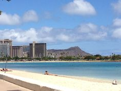 Today at Diamond Head. Perfect postcard photo, if you ask me. #beach #hawaii #808