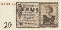 20 Reichsmark 1939 (``Tirolerschein´´),