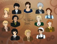 Infernal Devices characters. For once I actually agree with them. Except Magnus looks Italian.