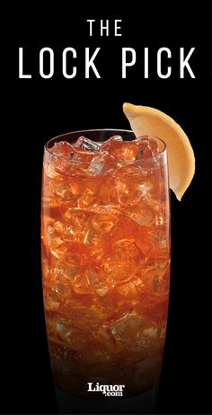 This iced tea-and-bourbon cocktail is the key to great night. #bourbon #icedtea #cocktail