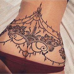 Resultado de imagem para henna tattoo