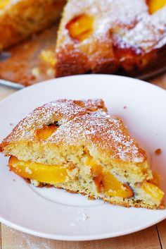 Peach yogurt cake (gluten free)
