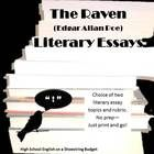 poe tic devices in the raven colorful bulletin boards  the raven literary essay edgar allan poe