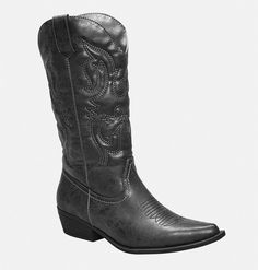 Abby Embroidered Cowboy BootAbby Embroidered Cowboy Boot,