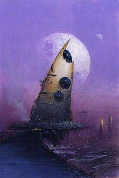 Starship wreckage.