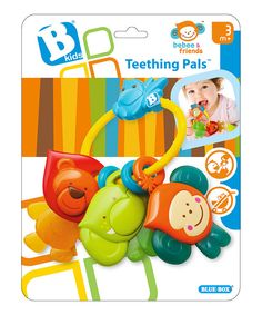 Look at this #zulilyfind! Teething Pal by Blue Box Toys #zulilyfinds