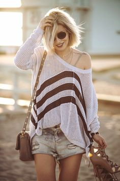 view more pictures on my blog | my outfit was taken at Venice beach | sundown…
