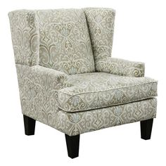 simple living clara wing accent chair clara wing chair brown fabric simple living furniture outlet and online furniture