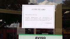 Bandidos ameaçam assaltar bancos da cidade de Uruará (PA) e agências fecham. Saiba mais acessando o nosso blog http://gazetauruara.blogspot.com.br/2016/06/bancos-fecham-apos-ameaca-de-assalto-em.html