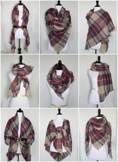 9 Ways to Style a Blanket Scarf for Petites | Five Foot Nothing Shopping