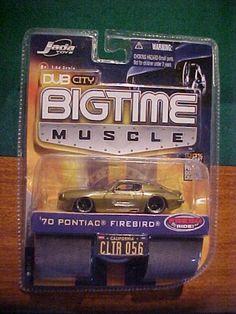 70 Pontiac Firebird Dub City Bigtime Muscle Jada Toys by jada toys. $6.88. 1/64 scale. fresh ride