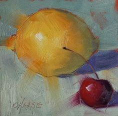 """Zesty"" - Original Fine Art for Sale - © Cindy Haase"