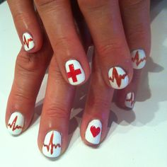 Nurse nails for my mom. :)