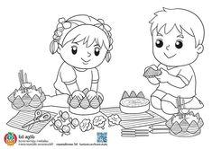 loy krathong coloring pages - photo#19