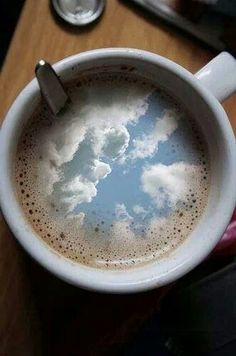 """I had some dreams, they were clouds in my coffee, Clouds in my coffee..."" Carly Simon, You're So Vain"