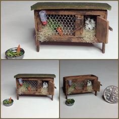 Miniature 1/4 1:48 Quarter Inch Scale Old English by IckleFingz