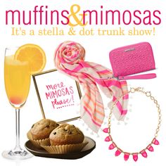 Muffins & Mimosas Stella & Dot trunk show party