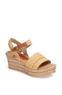 Sbicca 'Mahe' Wedge Sandal available at #Nordstrom