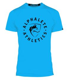 Lightning Blue Performance Shirt from Alphalete Athletics