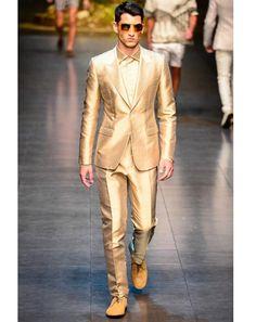 Dolce & Gabbana - Men Fashion Spring Summer 2014 - Shows - Vogue. Dolce & Gabbana, Fashion Show, Mens Fashion, Fashion Design, Fashion Spring, Looks Adidas, Milano Fashion Week, Men's Collection, Mens Suits