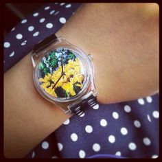 The gorgeous #instawatch I won during #may28th 's inaugural #instawatchme instagram tagging giveaway in #june! It's awesome to see one of your very own photos captured into the face of a watch! Thank you @MAY28TH | InstaWATCH :)  via @Deah Postiglion