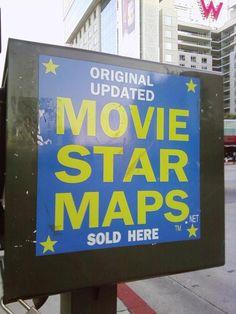 Movie Star Maps, Hollywood Blvd