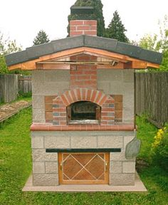 Wood Fired Oven Outdoor Stone Hearth Oven