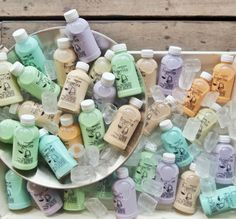 Milk tea from @propertea_bali. Refreshing & how beautiful are those pastel colors  Location: Bali