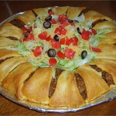 Cressent roll toco bake